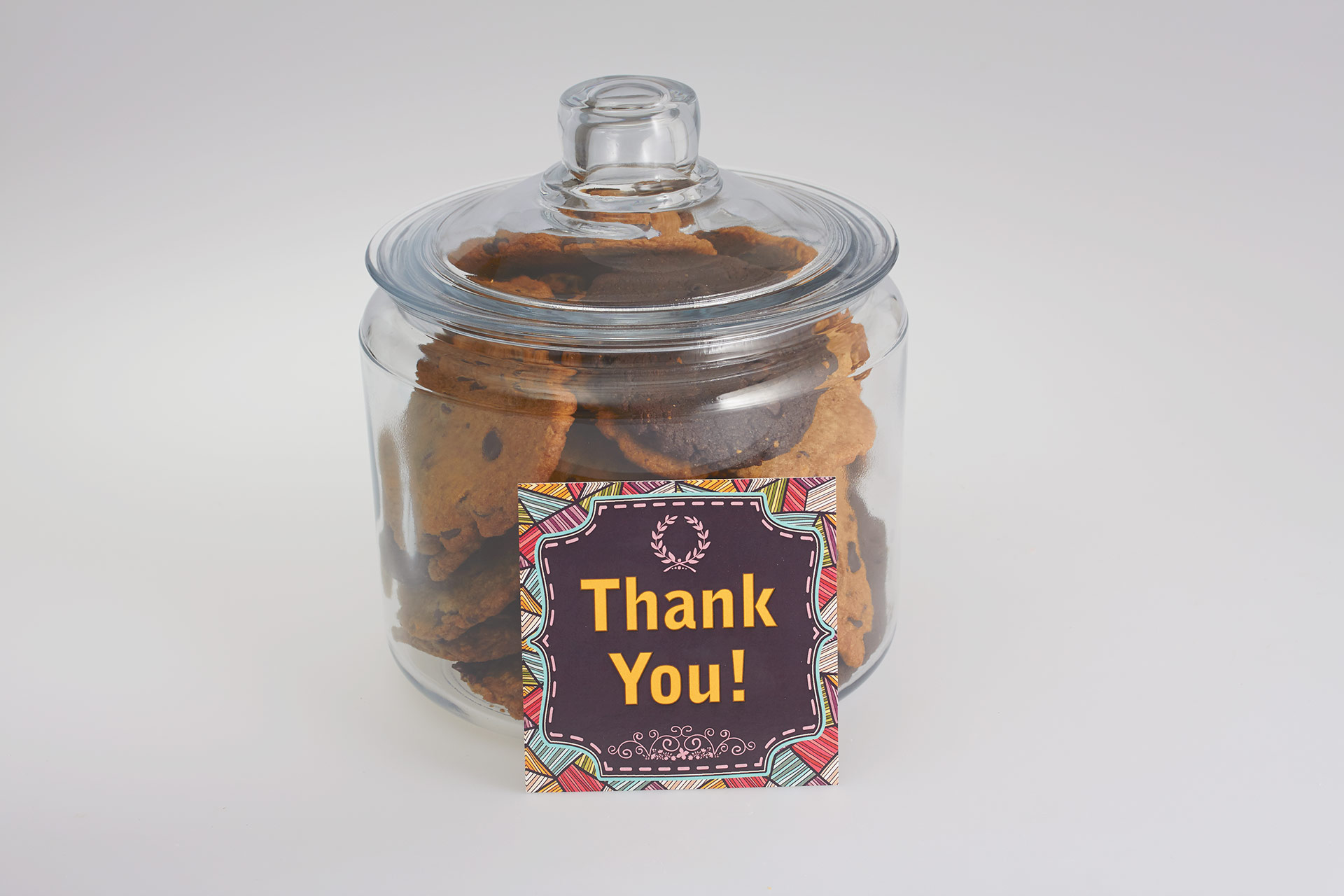 Thank you Cookies in a Jar Gift