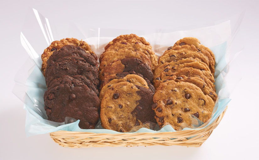 Cookie baskets to celebrate Spring