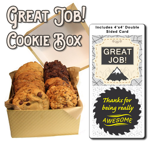 Cookie Box Corporate Gift Great Job