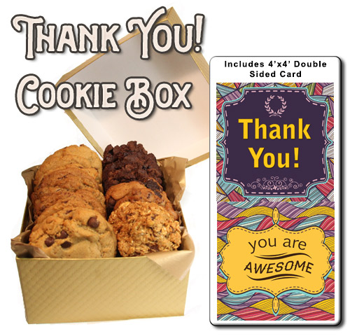 Cookie Box Corporate Gift Thank you