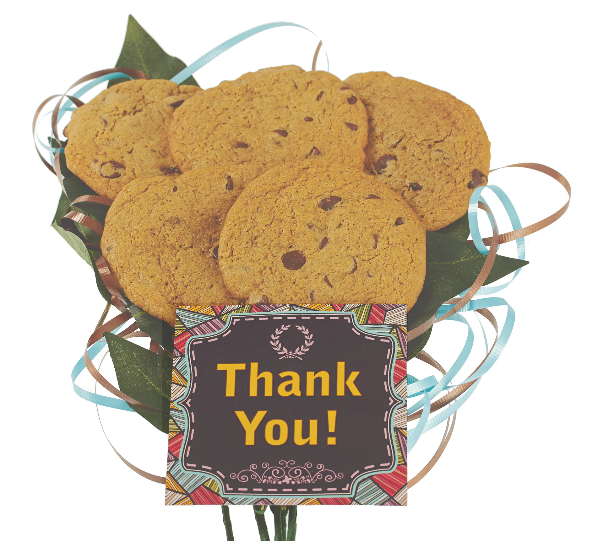 Thank you gluten free vegan cookie bouquet