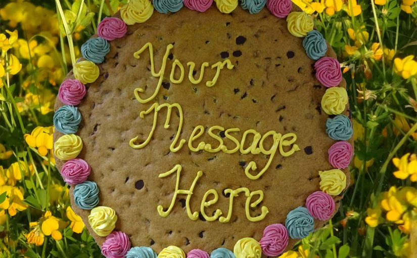 Giant Cookie Grams Delivered in Toronto and the Toronto Vegetarian Association