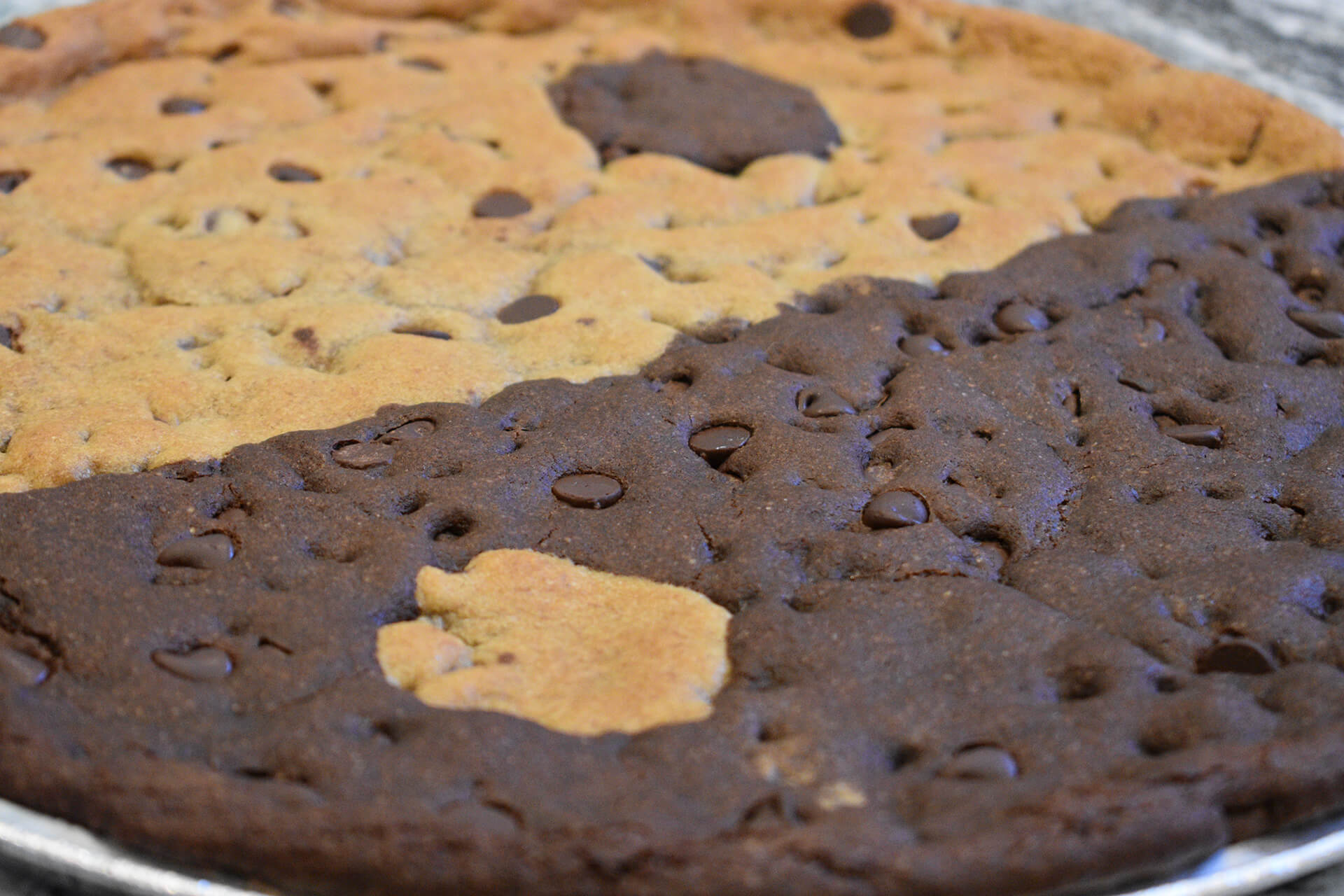 Giant cookie gram