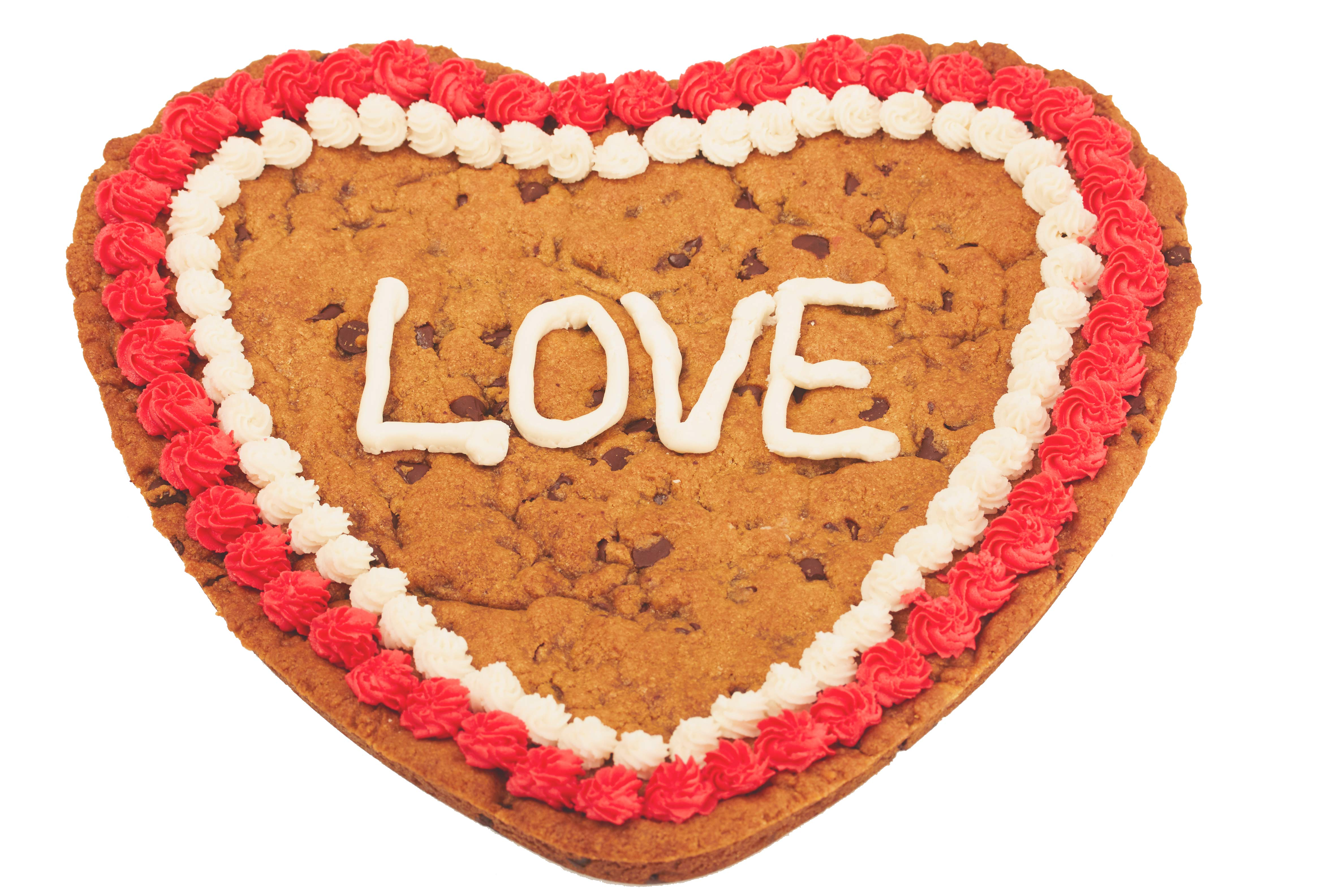Giant Love Cookie Gram Valentines Day