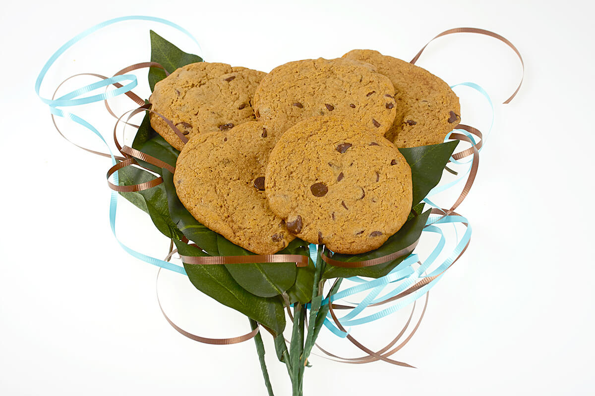 Cookie-bouquet delivered in Toronto