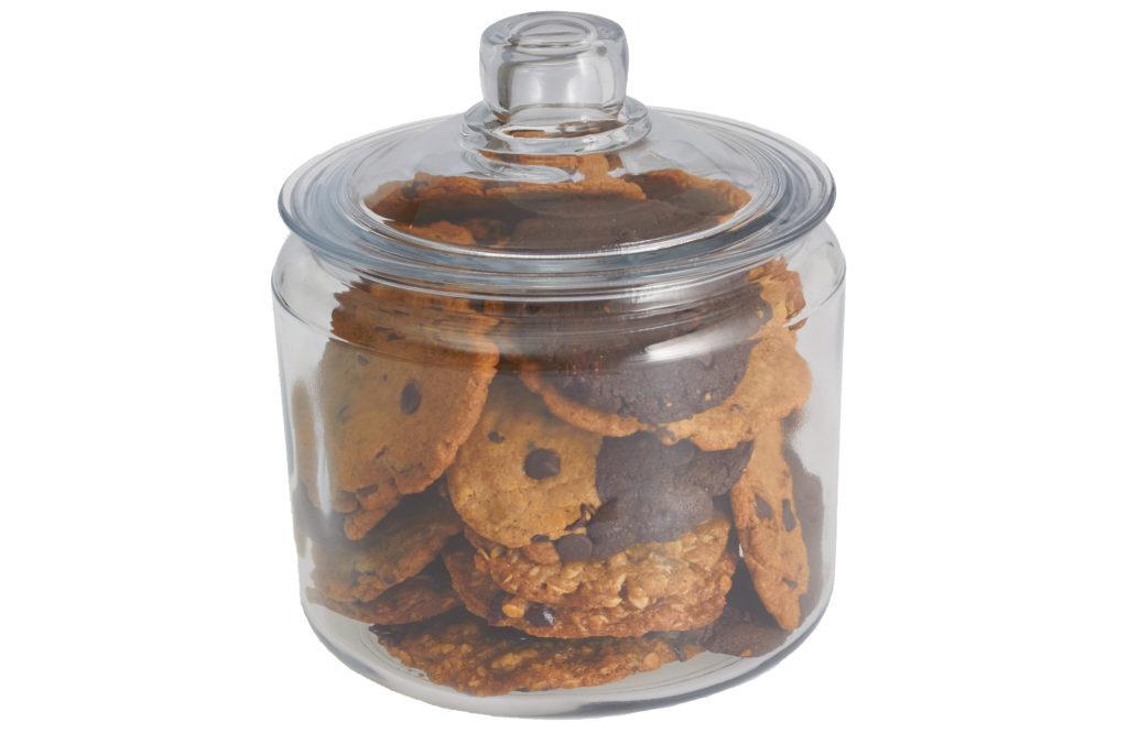 Cookie jar 3/4 quart gift