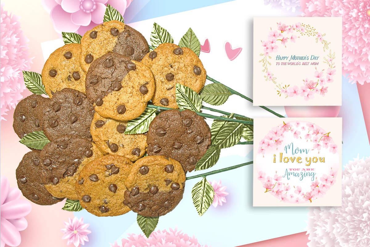 Happy Mother's Day Cookie Bouquet