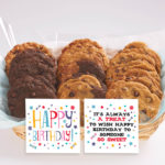 Happy Birthday Gourmet Cookie Gift Basket