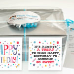 Happy Birthday Small Cookie Gift box