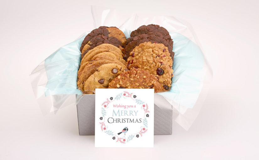 Merry Christmas Cookies Gift Box