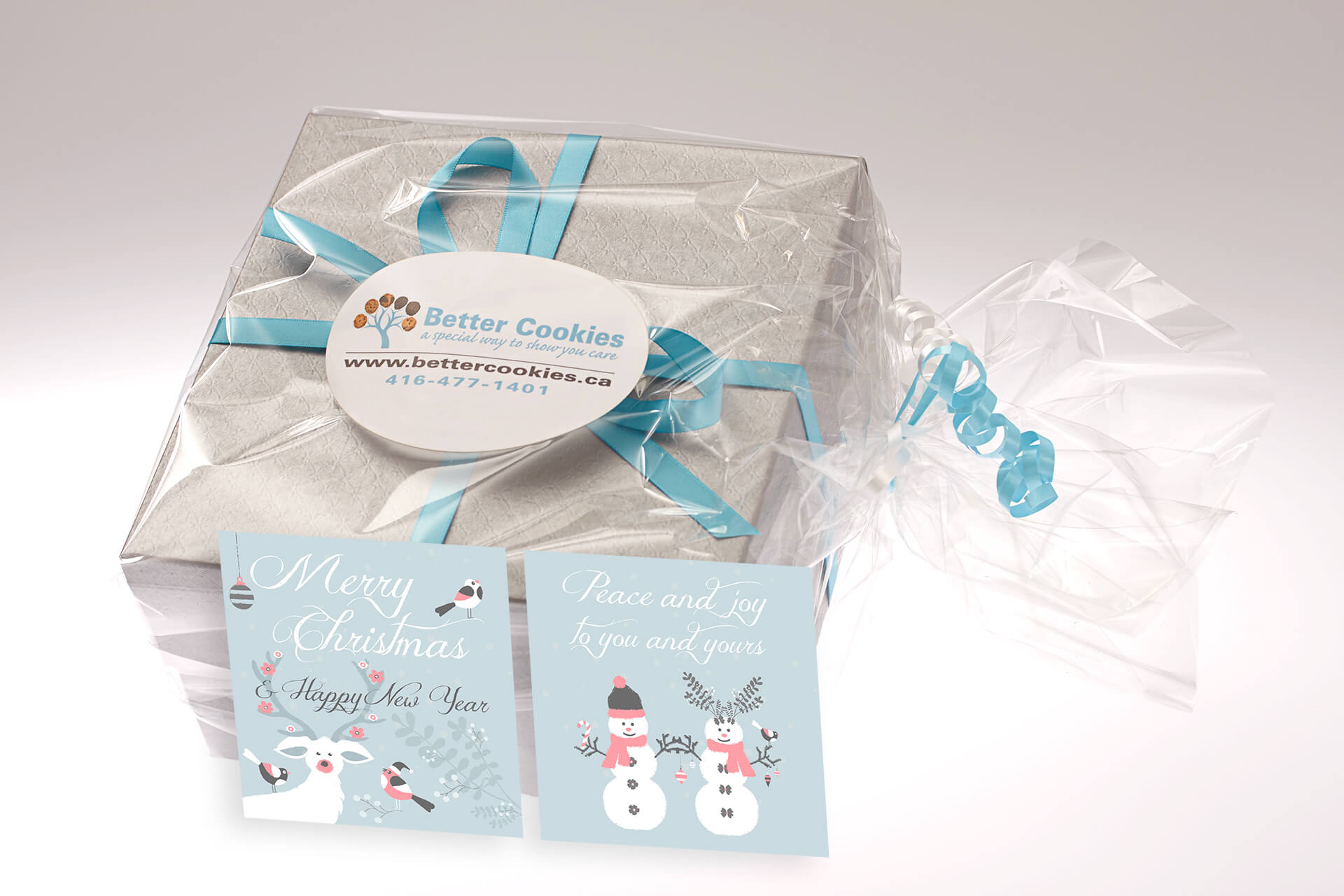 Christmas Cookies Gift Boxes in Canada