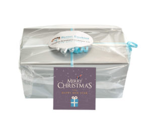Merry Christmas Small Cookie Gift Box