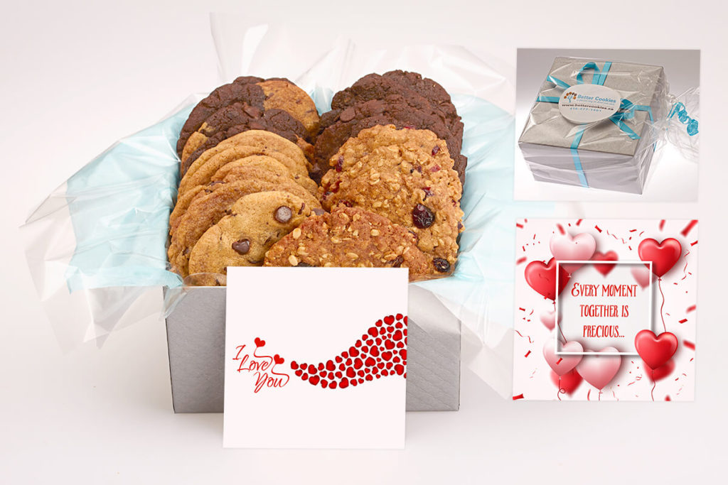 I Love You Cookie Gift Box