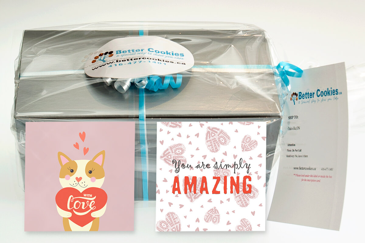 Small With Love Cookie Gift Box