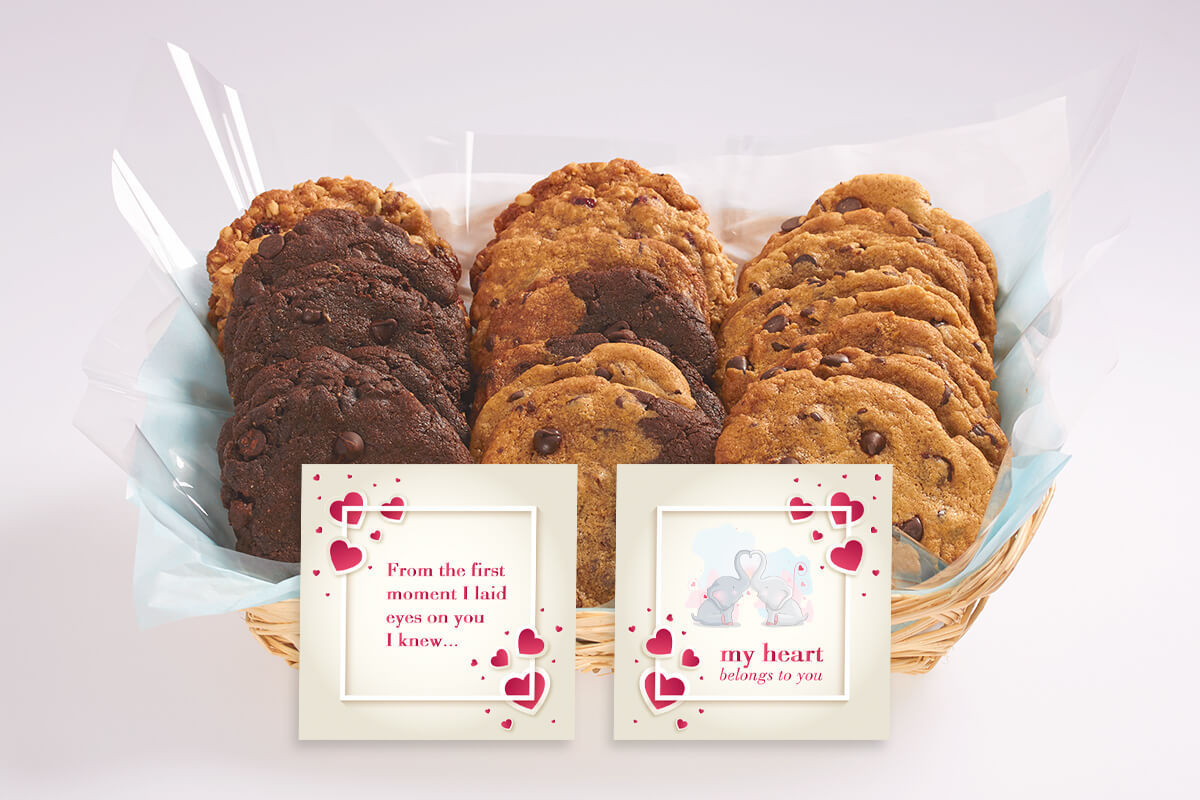Heartfelt Cookie Gift Baskets available across the GTA