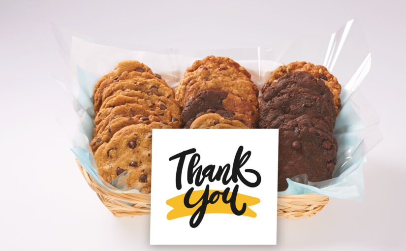 """Corporate Gifts in Canada to say """"Thank You"""" with Better Cookies"""