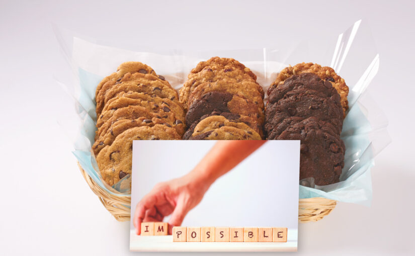 Send a video message with your cookie delivery for FREE