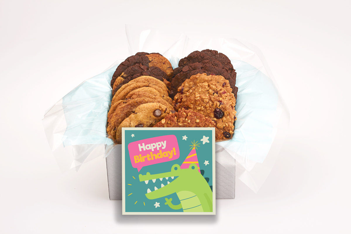 Alligator Happy Birthday Giftbox
