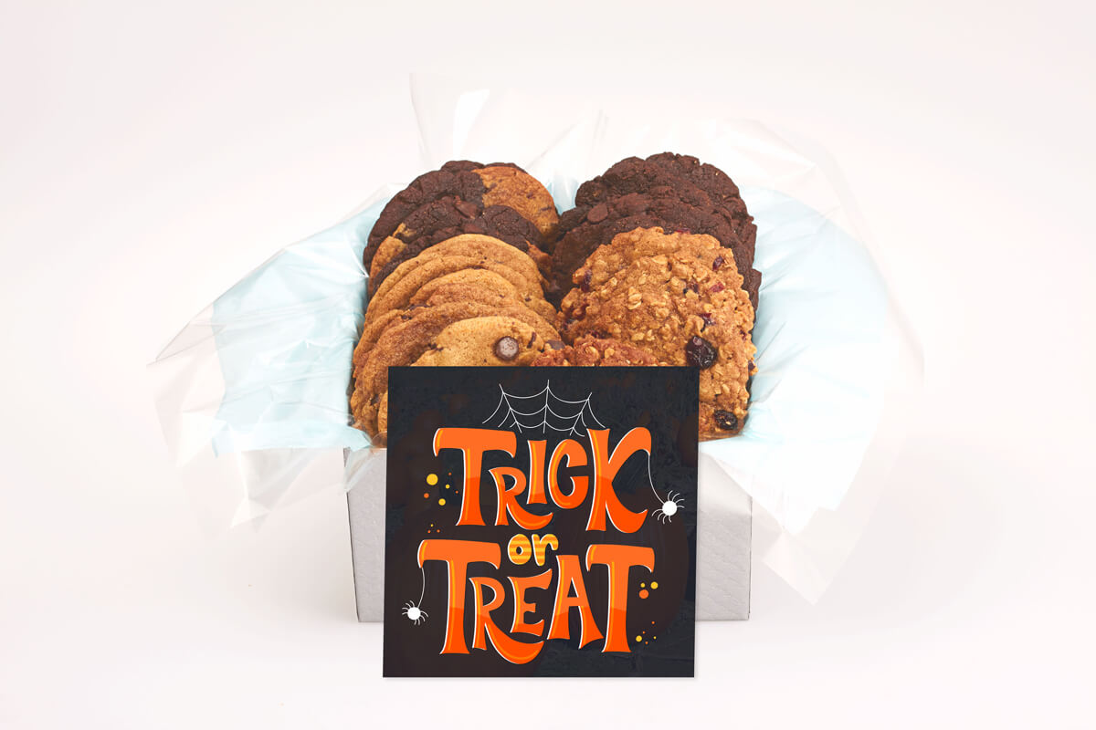 Trick or treat cookie box