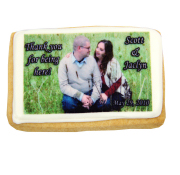 Wedding Photo Cookie