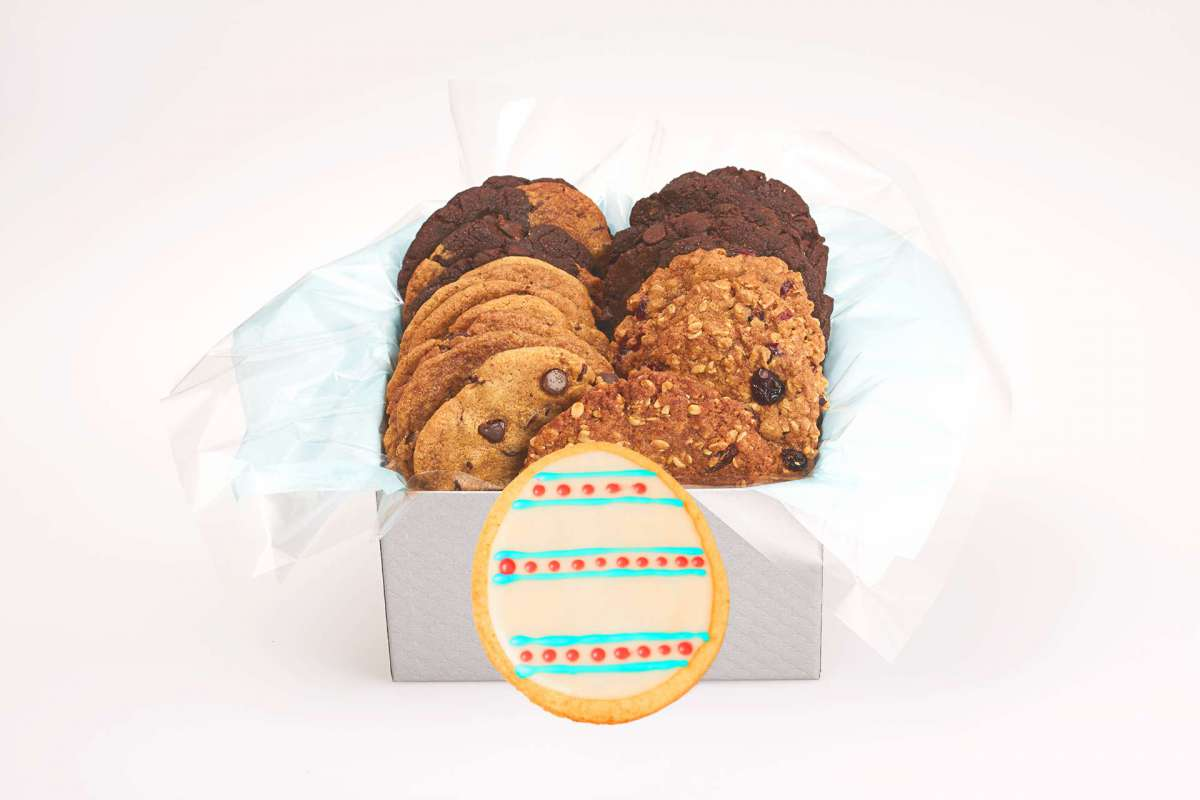Vegan easter egg cookie gift box icare cookie gift boxes better enlarge vegan easter egg cookie gift box negle Image collections