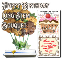 Happy Birthday Long Stem Bouquet