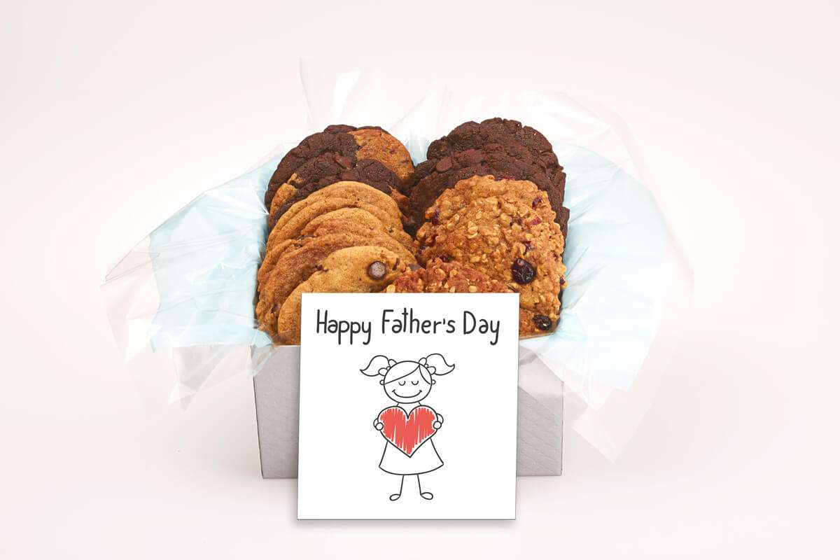 A Big Heart Father's Day Cookie Box