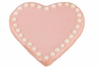 Select the A Big Pink Heart Sugar Cookie