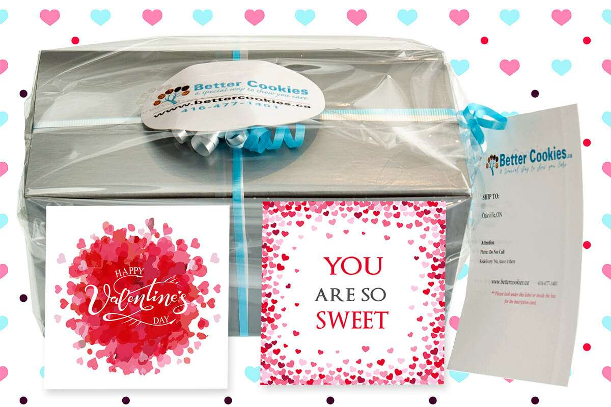 A Small and Sweet Valentine's Day Gift Box