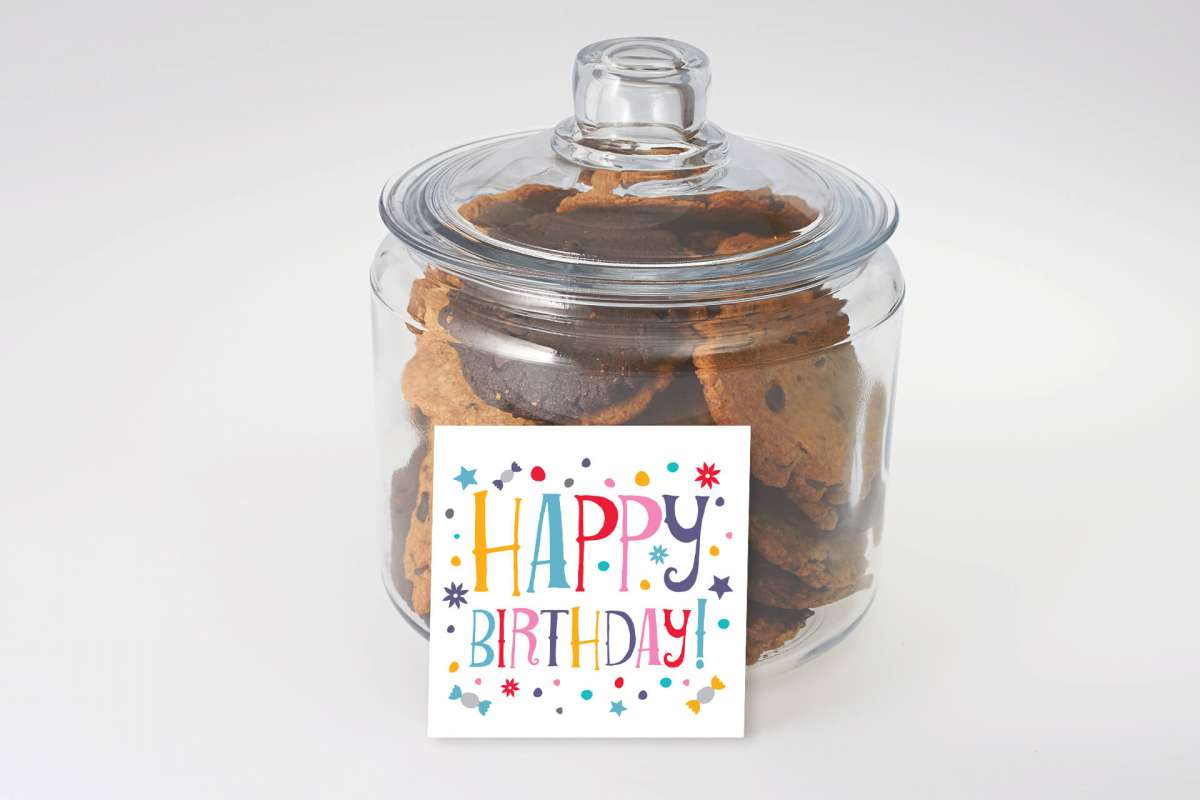 A Sweet Birthday Cookie Jar
