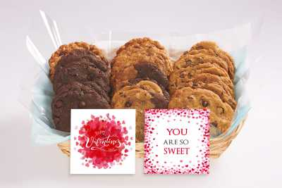 A Sweet Valentine's Day Gift Basket