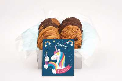 A Very Magical Unicorn Birthday Cookie Gift Box