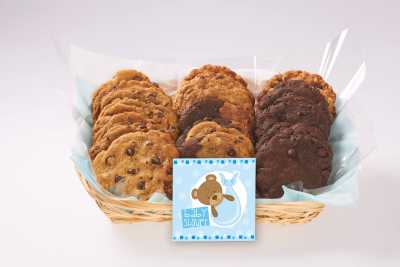 Baby Shower Cookie Basket