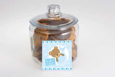 Baby Shower Cookies in a Jar
