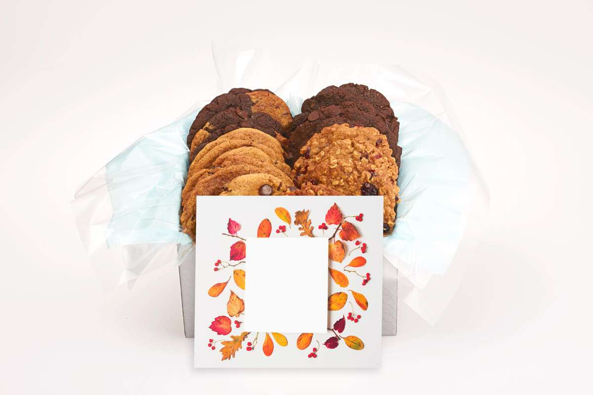 Beautiful Fall Leaves Gift Box