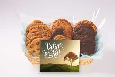 Believe in Yourself Cookie Gift Basket
