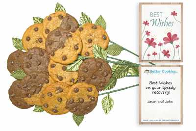 Best Wishes Cookie Bouquet