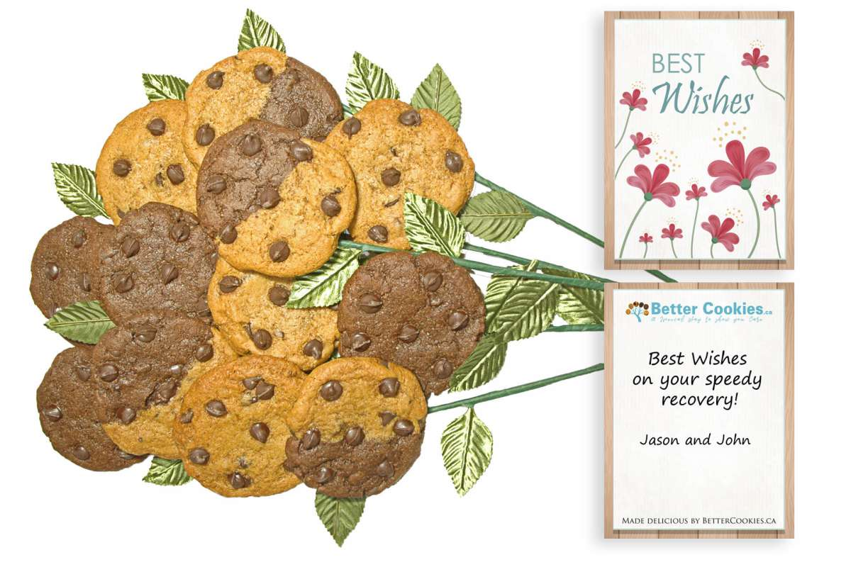 Best Wishes Bouquet of Cookies