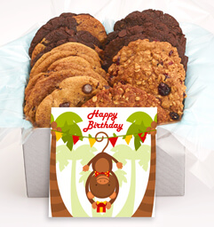 Wild Birthday Cookie Gift Box