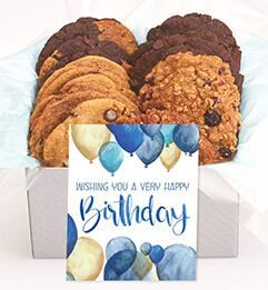 Birthday Balloon Gourmet Cookie Box