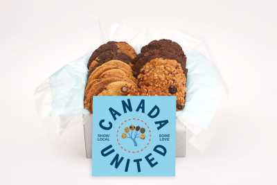 Canada United Cookie Gift Box