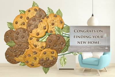 Congrats on Your New Home Cookie Bouquet