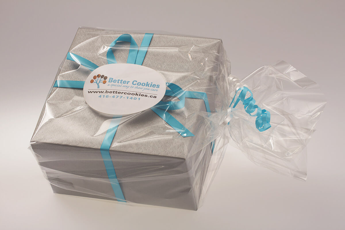 Vegan Cookie Gift Box Delivery in Canada - Send a beautiful thank you gift online