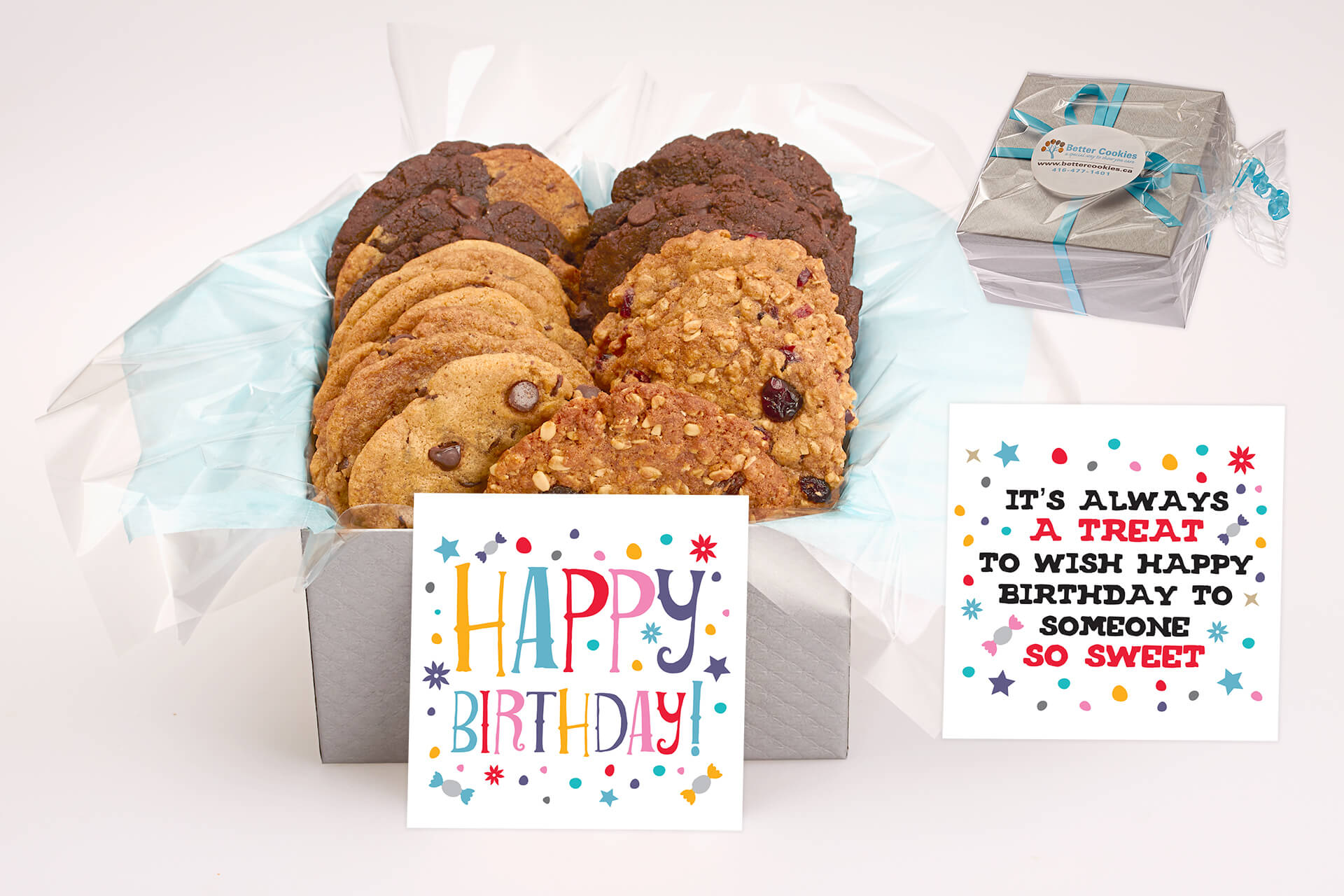 Cookie Gift Box Delivery across Canada - Send a beautiful Birthday gift online