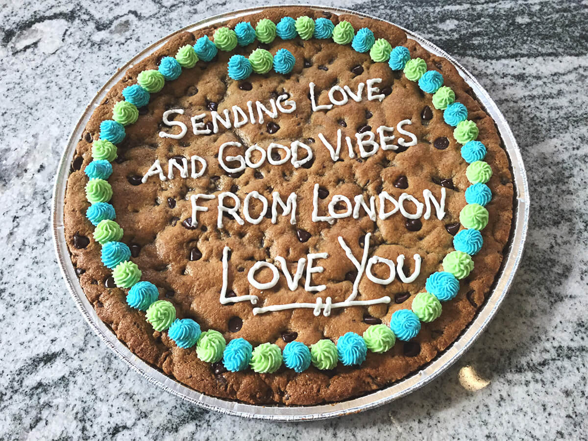 Cookie Grams Delivered in the GTA including Hamilton, Burlington, Oakville and Mississauga