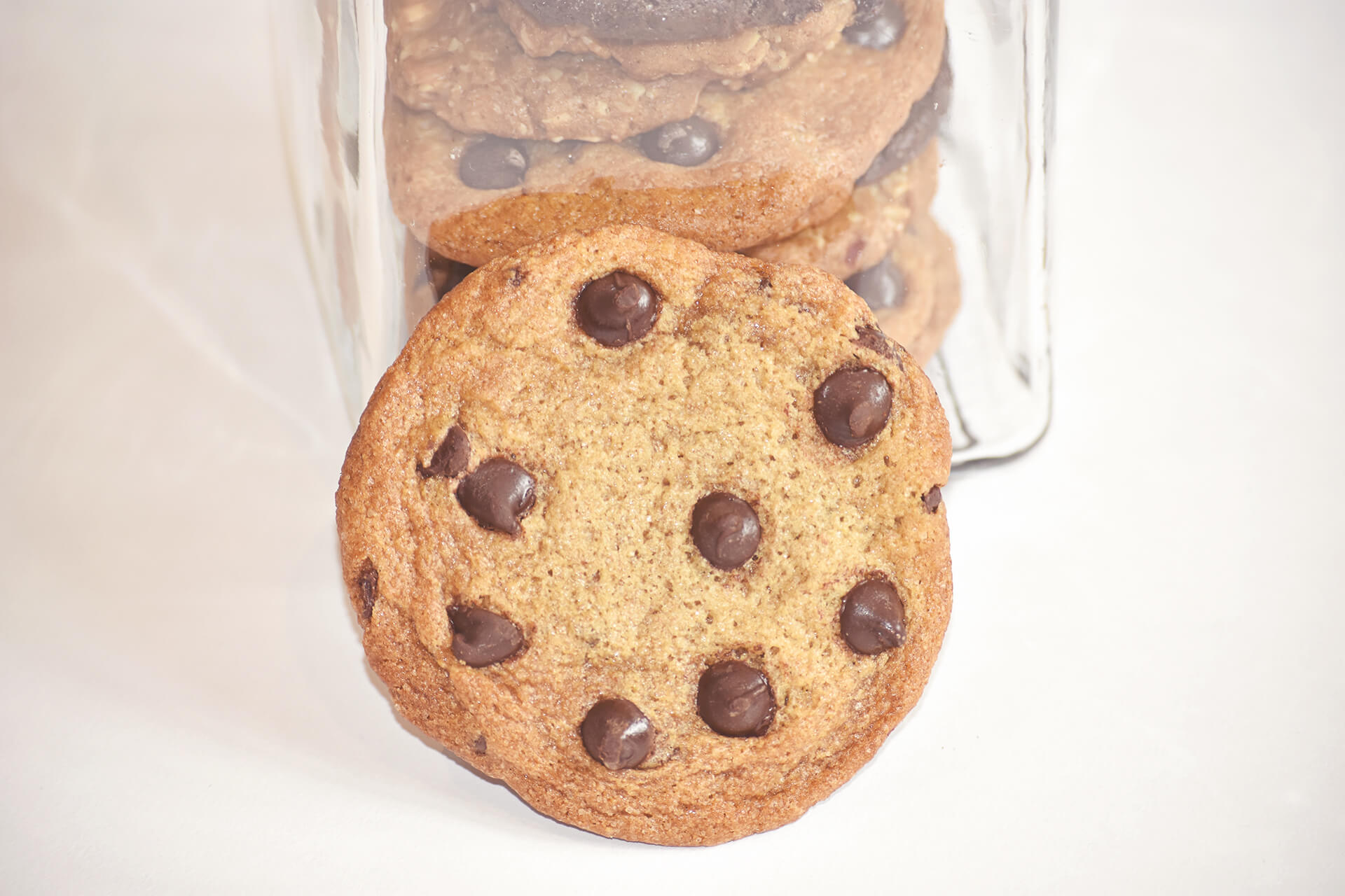 Cookies in A Glass Jar Gift Local Delivery