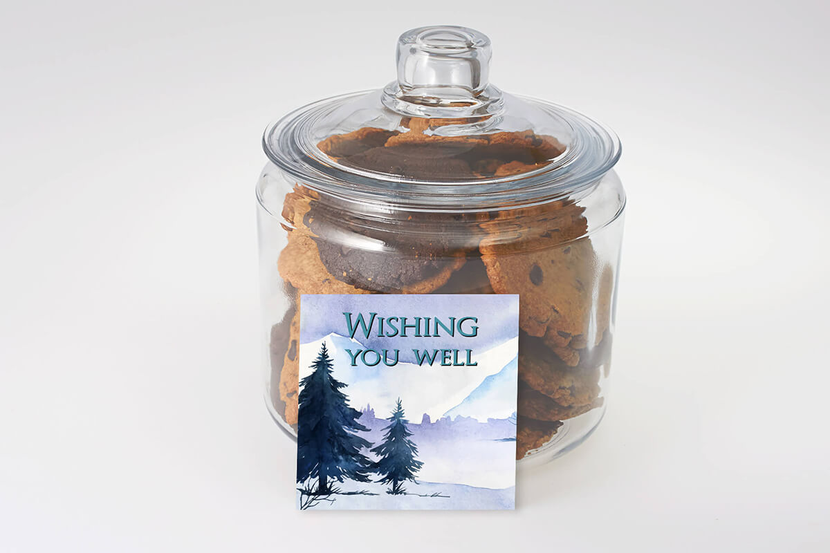 Get Well Cookie Jar Delivered in Burlington, Oakville, Hamilton and the GTA