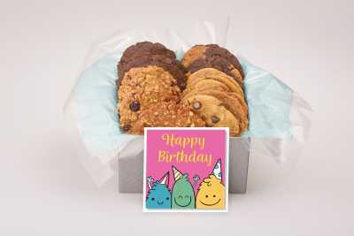 Cute Cookie Monster's Birthday Gift Box