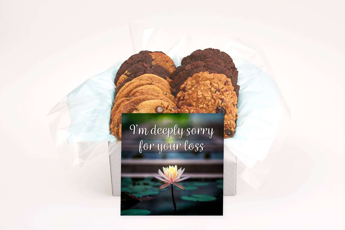 Deeply Sorry For Your Loss Cookie Gift Box