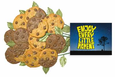 Enjoy Every Moment Cookie Gift Bouquet